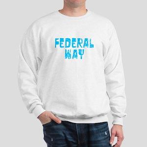 Federal Way Faded (Blue) Sweatshirt