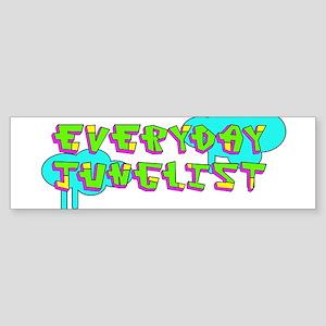 Neon Junglist Bumper Sticker