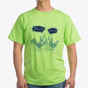 Chicken Bach Bach Blue T-Shirt