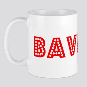 Retro Bavaria (Red) Mug