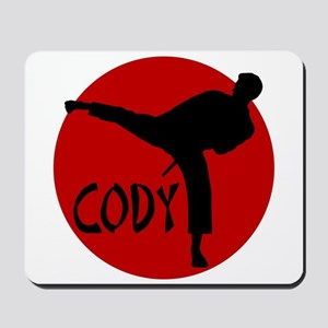 Cody Karate Mousepad