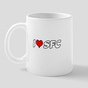 """""""I Love SFC"""" Mug"""