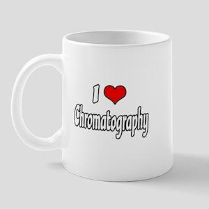 """""""I Love Chromatography"""" Mug"""
