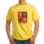 Czech Republic Yellow T-Shirt