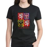 Czech Republic Women's Dark T-Shirt