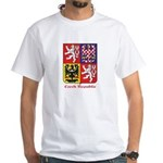 Czech Republic White T-Shirt