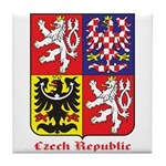 Czech Republic Tile Coaster
