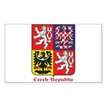Czech Republic Sticker (Rectangle)