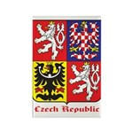 Czech Republic Rectangle Magnet (100 pack)