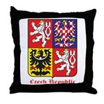 Czech Republic Throw Pillow