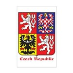 Czech Republic Mini Poster Print