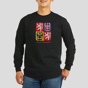 Czech Republic Long Sleeve Dark T-Shirt