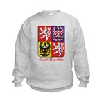 Czech Republic Kids Sweatshirt