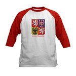 Czech Republic Kids Baseball Jersey