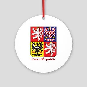 Czech Republic Ornament (Round)