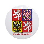 Czech Republic Ornament (Round)