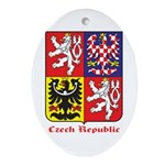 Czech Republic Ornament (Oval)