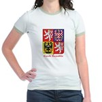 Czech Republic Jr. Ringer T-Shirt