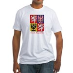 Czech Republic Fitted T-Shirt