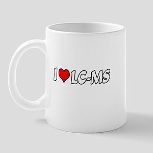 """""""I Love LC-MS"""" Mug"""