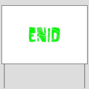 Enid Faded (Green) Yard Sign
