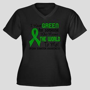 Organ Donatio Plus Size T-Shirt