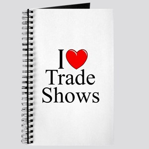 """""""I Love (Heart) Trade Shows"""" Journal"""