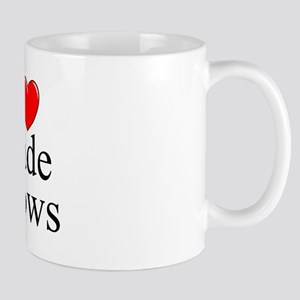 """I Love (Heart) Trade Shows"" Mug"