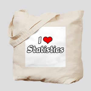"""I Love Statistics"" Tote Bag"