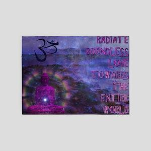 Boundless Buddha 5'x7'Area Rug