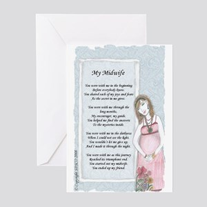 Midwifery Greeting Cards (Pk of 20)