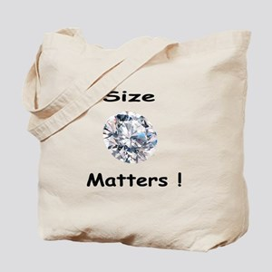 Size Matters! Tote Bag