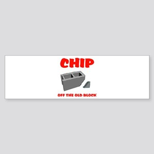 CHIP Bumper Sticker