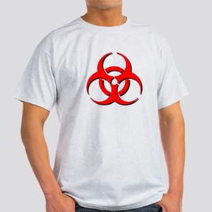 Biohazard Symbol Light T-Shirt