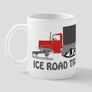 Ice Road Truck Red Mug