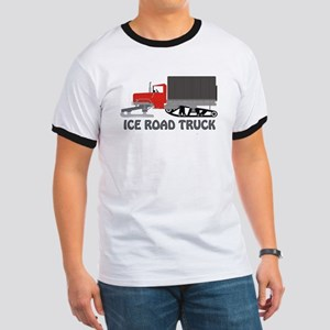 Ice Road Truck Red Ringer T