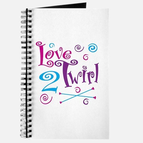 Love 2 Twirl Journal