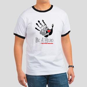 Be A HeroPNGblk T-Shirt