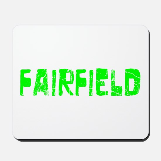 Fairfield Faded (Green) Mousepad