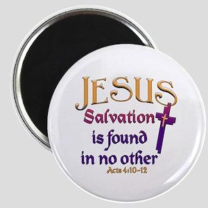 Jesus, Salvation in no other Magnet