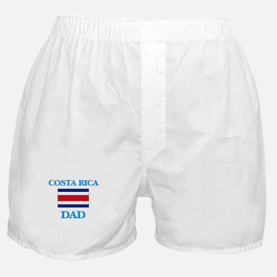 costa rica Dad Boxer Shorts