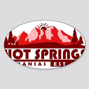 Hot Springs - Arkansas Sticker