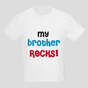 My Brother Rocks Kids Light T-Shirt