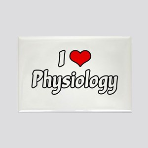 """I Love Physiology"" Rectangle Magnet"