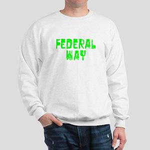 Federal Way Faded (Green) Sweatshirt