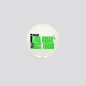 I Wear Lime Green For My Best Friend 6 Mini Button