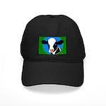Cow Black Cap