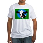 Cow Fitted T-Shirt