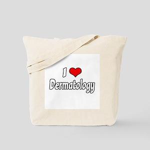 """I Love Dermatology"" Tote Bag"