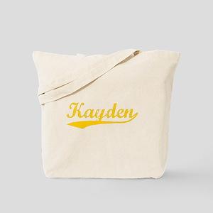 Vintage Kayden (Orange) Tote Bag